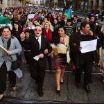Ezrek vonultak békésen a Roma büszkeség napján