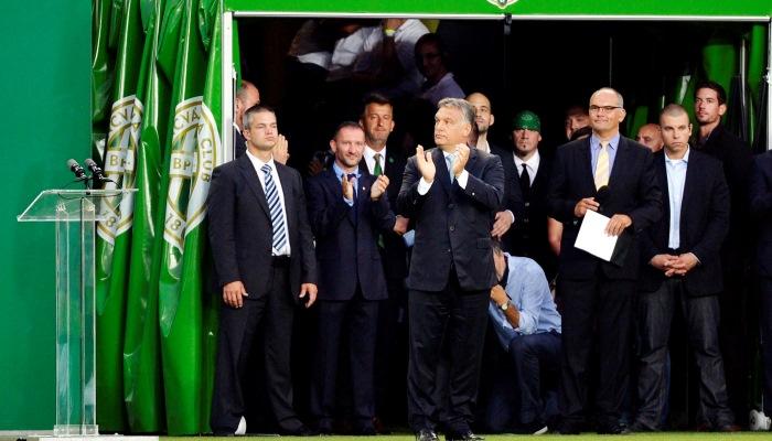 A ferencvárosi Groupama Aréna megnyitója