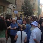 Tiltakozás az Ökotárs elleni rajtaütés miatt