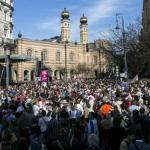 Többtízezres tömeg vett részt a Soá áldozataira emlékező Élet menetén