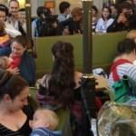 Elárasztották a szoptató anyukák a Nyugati pályaudvari McDonald's-et