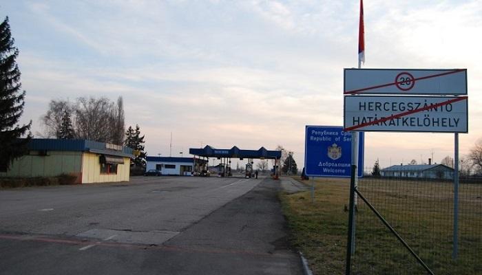 Szerb-magyar határ