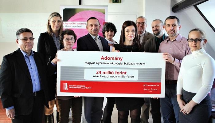 Együtt a Leukémiás Gyermekekért Alapítvány, Fodor Zsuzsa, Kriván Gergely, Nagy Anikó