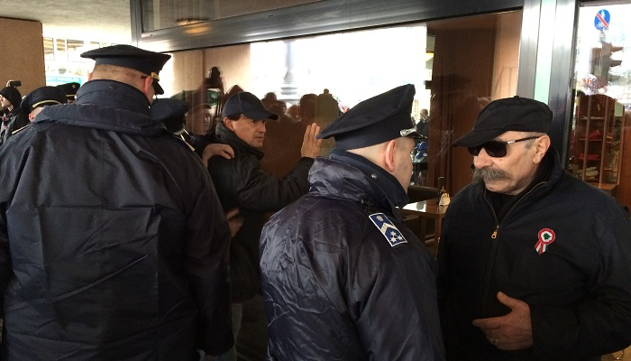 Rendőri intézkedés, 2016. március 15. II.
