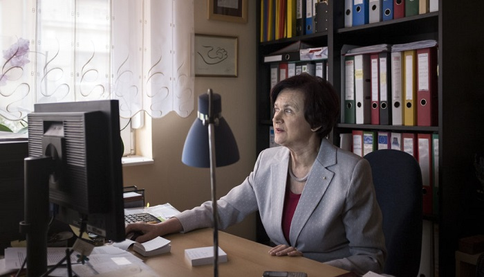 Budavári Zita, a Bölcső Alapítvány elnöke