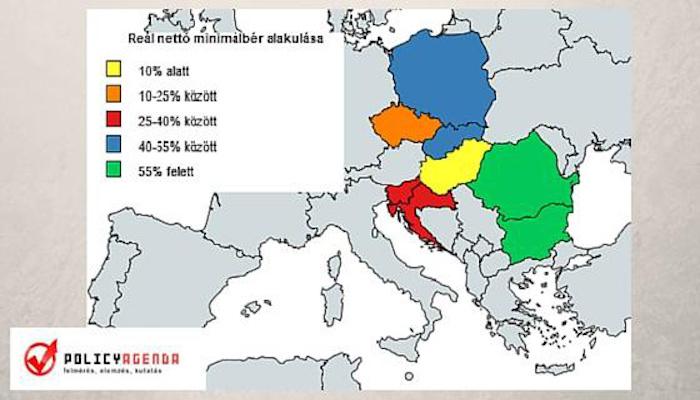 Ausztria minimálbér nettó