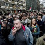 Elszánt tüntetők, feldühödött kormányszimpatizánsok – ilyen volt belülről a nemzeti ünnep