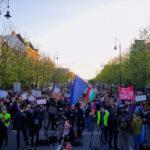 Orbán Viktor kapta a legnagyobb éljenzést a Putyin-ellenes tüntetésen