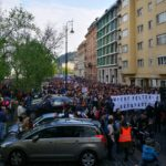 Zenés-táncos tüntetés szombaton a szabadságért