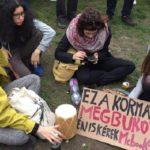 Az arányos választási rendszerért hirdetett mozgalmat Gulyás Márton a szombat esti tüntetésen